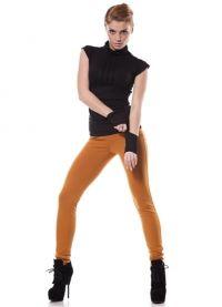 Co se nosit s hořčištními kalhotami 5