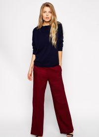 što nositi s crvenim hlače 2015 3
