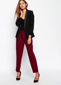 što nositi s crvenim hlače 2015 5