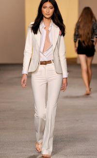 Co ubrać w białe spodnie 3