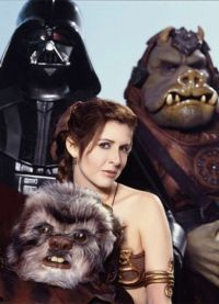 Принцесса Лея и другие персонажи Звездных войн