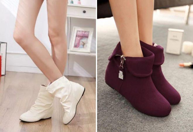 ženske čizme za gležnjeve s petama