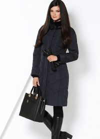 płaszcz damski z tkaniny przeciwdeszczowej na syntetycznym zimniku5