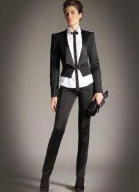 garnitury damskie w stylu męskim 1