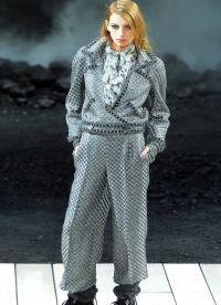 garnitury kobiet w modzie męskiej 2