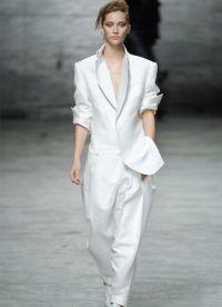 garnitury kobiet w modzie męskiej 4