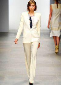 garnitury kobiet w modzie męskiej 5