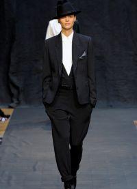 garnitury kobiet w modzie męskiej 6