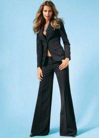 Dámský večerní kalhotový oblek 14