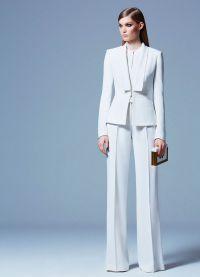 Dámský večerní kalhotový oblek 8