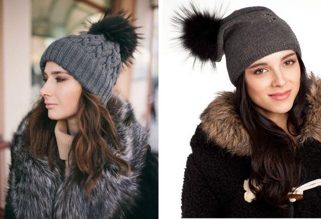 damskie futrzane czapki 12