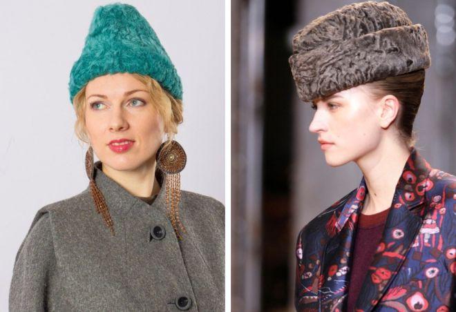 damskie futrzane czapki 15