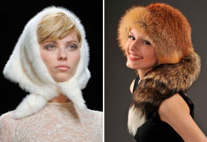 damskie futrzane czapki 3