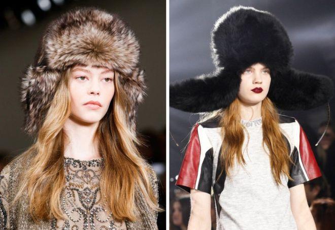 damskie futrzane czapki 8