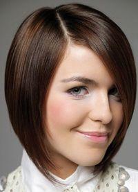 Modne fryzury na okrągłą twarz 4