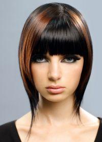 Modne fryzury dla okrągłej twarzy 5
