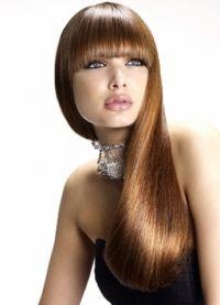 Modne fryzury na okrągłą twarz 6