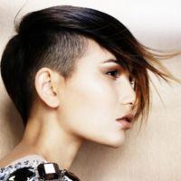 modna fryzura z ogolonymi świątyniami dla kobiet 3