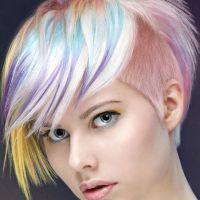 modna fryzura z ogolonymi świątyniami żeńska 8