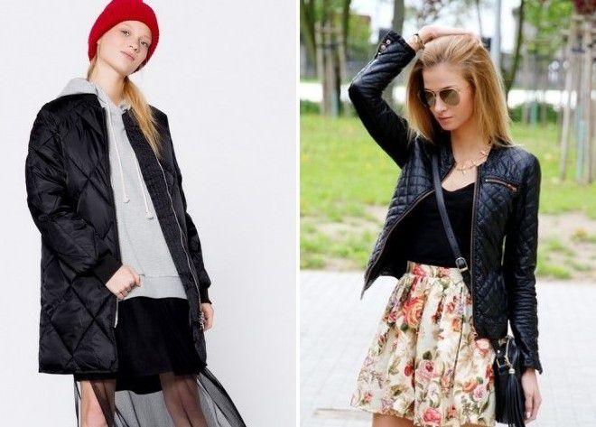 черная куртка бомбер