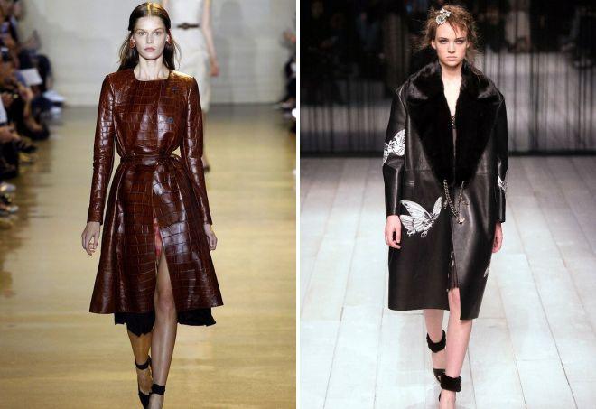 ženske kožne kapute