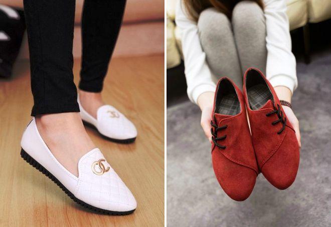 ploski čevlji za pomlad 2017