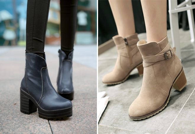 какие ботинки в моде осенью 2017