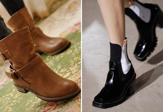 модные женские осенние ботинки 2017