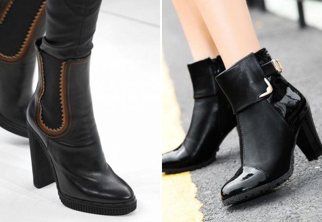 модные осенние ботинки 2017