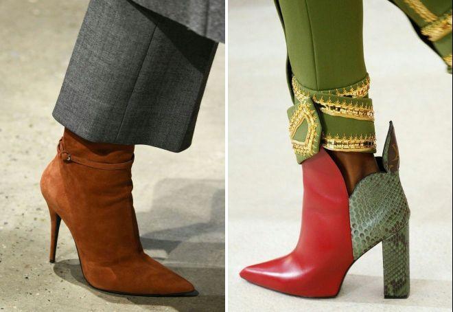 ботинки осень 2017