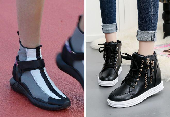 осенние ботинки 2017 спортивный стиль