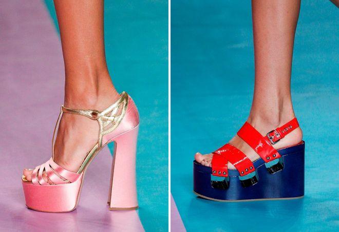 модели летней обуви 2017