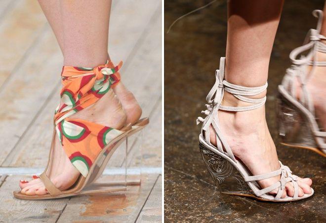 модня летняя обувь 2017