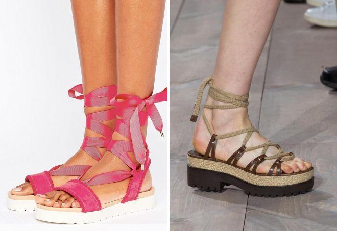 модная женская летняя обувь 2017
