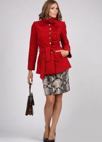 Krótki płaszcz damski 2