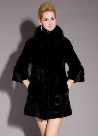Krótki płaszcz damski 3