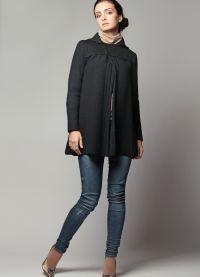 Krótki płaszcz damski 4