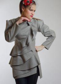 Krótki płaszcz damski 8