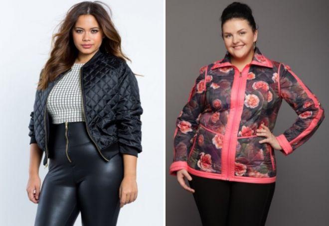 proljeće ženske jakne za žene debele 2017