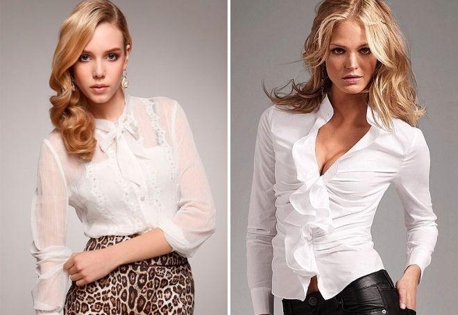 женские стильные блузки 2017