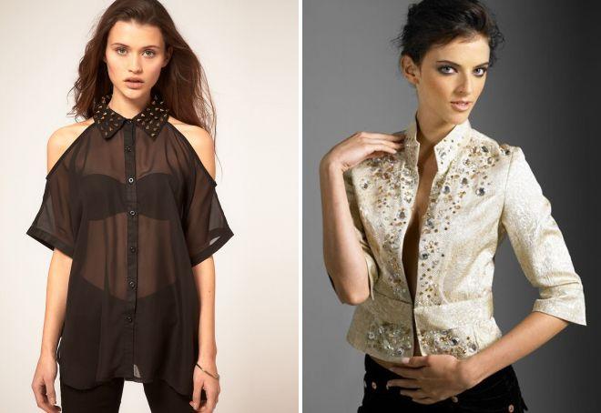 стильные рубашки для женщин