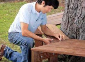 Самостојеће дрвене клупе11
