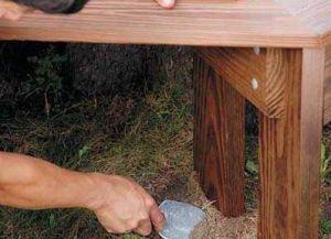 Дрвене клупе с властитим рукама12