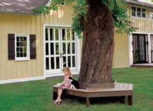 Клупе од дрвета с властитим рукама14