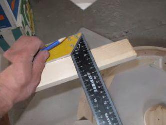Żyrandol wykonany z drewna własnymi rękami 17