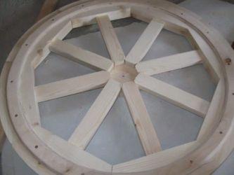 Żyrandol wykonany z drewna własnymi rękami 21