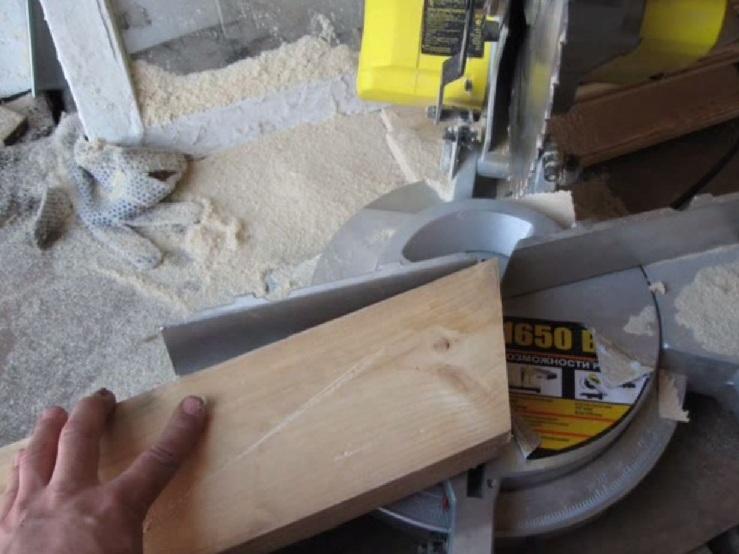 Drewniany świecznik DIY 3