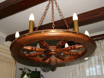 Świecznik wykonany z drewna własnymi rękami