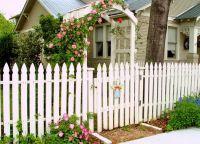 дрвена украсна ограда 1