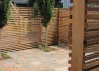 дрвена декоративна ограда 3